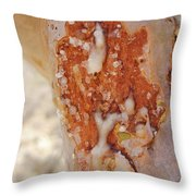 Frankincense Sap Throw Pillow