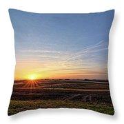 Franklin County Iowa Throw Pillow