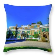 Franklin Delano Roosevelt's House Throw Pillow