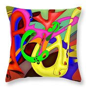 Fraternite Throw Pillow