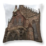 Frauenkirche - Nuremberg Throw Pillow