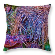 Freak Out Throw Pillow