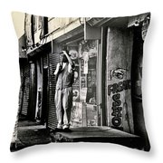 Freak Show Throw Pillow