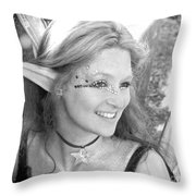 Freckled Fae Throw Pillow