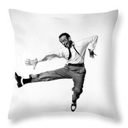 Fred Astaire In Daddy Long Legs 1955 Throw Pillow
