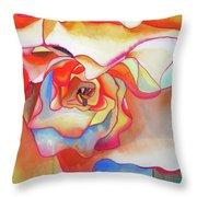 Fred Martin Begonia Throw Pillow