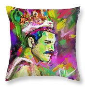 Freddie Mercury, Bohemian Rhapsody Throw Pillow
