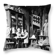 Frederic-auguste Bartholdi Throw Pillow
