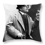 Frederic Remington Throw Pillow