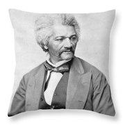 Frederick Douglass Throw Pillow by War Is Hell Store