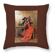 Frederick Hendrik Throw Pillow