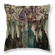 Frederick Judd Waugh 1861 1940 Rum Row Throw Pillow