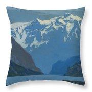 Frederick Judd Waugh  American  1861 1940  Northwest Coast Throw Pillow