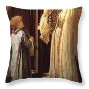 Frederick Leighton Light Of The Harem C  1880 Throw Pillow