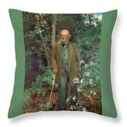 Fredrick Law Olmsted 1895 Throw Pillow