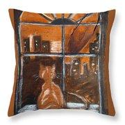 Fredrick's Window Throw Pillow