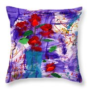 Free  And Easy Throw Pillow