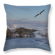 Free As A Bird  Throw Pillow by Nicole Markmann Nelson