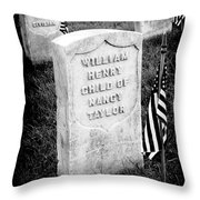 Free Blacks Throw Pillow