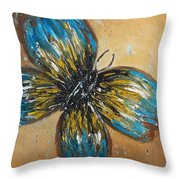 Free Butterfly Throw Pillow