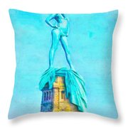 Free Liberty - Da Throw Pillow