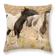 Free Life Throw Pillow
