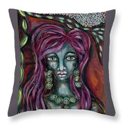 Self Contained Throw Pillow