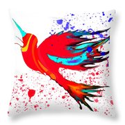 Free To Soar Higher Throw Pillow