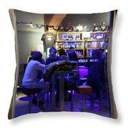Free Wi-fi Throw Pillow