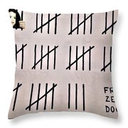 Free Zehra Dogan Throw Pillow