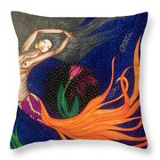 Freebie Me. Throw Pillow