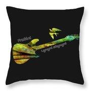 Freebird Lynyrd Skynyrd Ronnie Van Zant Throw Pillow