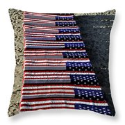 Freedom Costs Throw Pillow