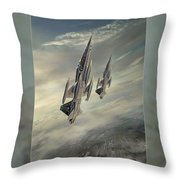 Freedom Fighters Three Throw Pillow