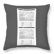 Freedom Flower One  Throw Pillow