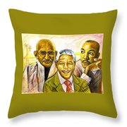 Freedom Hero Throw Pillow