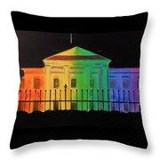 Freedom House Throw Pillow