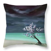 Freedom In Being Dust Throw Pillow