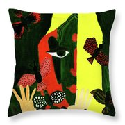 Freedom In Colors Throw Pillow