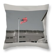 Freedom In Prison Throw Pillow