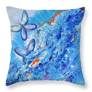Freedom In Soul  Throw Pillow