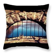 Freedom Is Breaking Down The Walls Throw Pillow