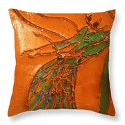 Freedom Of Dance - Tiled Throw Pillow
