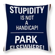 Freedom Of Expression Throw Pillow