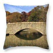 Freedom Park Bridge Throw Pillow