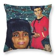 Freedom Star  Throw Pillow