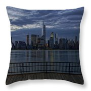 Freedom Tower Throw Pillow