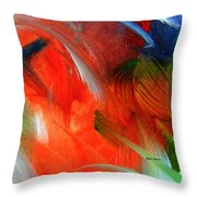 Freedom With Art Throw Pillow