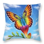 Freesia - Necessary Change Throw Pillow