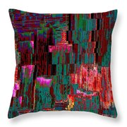 Freeway Park Squared Throw Pillow